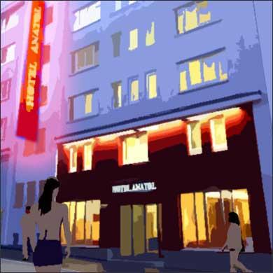 Architekt Daniel Gutmann - Hotel Anatol - Wien