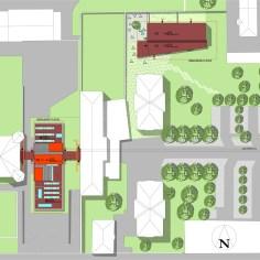 Besucherzentrum Justizanstalt Karlau - Lageplan