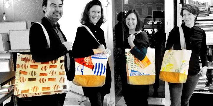 Architekt Gutmann - Team mit Taschen