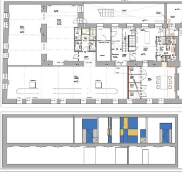 Shared Offices, Schikanedergasse, Wien - Plan
