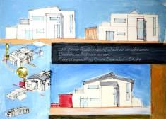Architekt Daniel Gutmann - Einfamilienhäuser - Fassadenstudien - Großenzersdorf