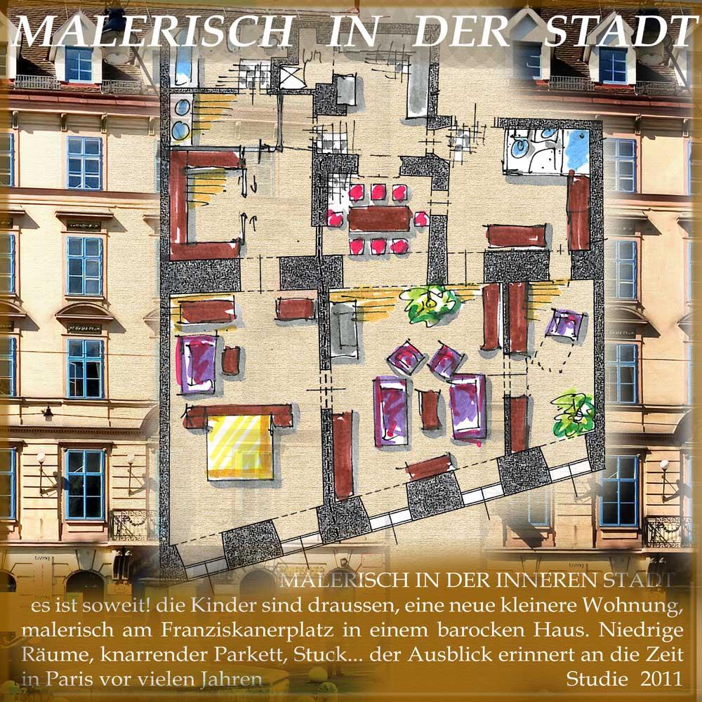 Architekt Daniel Gutmann - Wohnungen - Franziskanerplatz