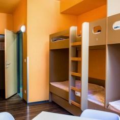 Jugendgästehaus Hütteldorf - Betten