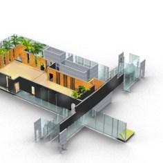 Besucherzentrum Justizanstalt Karlau - Konzept Umgebung