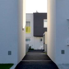 Reihenhausanlage Groß-Enzersdorf - Durchblick