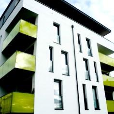 Wohnhausanlage Tulln - Bauteil 2 Westfassade