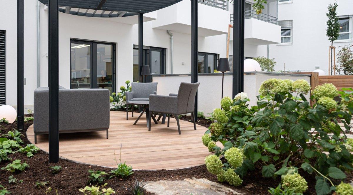 Architekt Gutmann - Büro Service & More Diefenbachgasse - Lounge