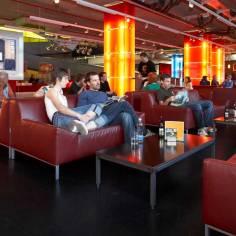 Architekt Daniel Gutmann - Cube Savognin - Lounge