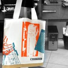 Siebdrucktaschen - Tasche
