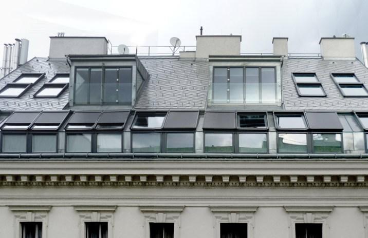 Dachgeschoss Führichgasse - Aussensicht