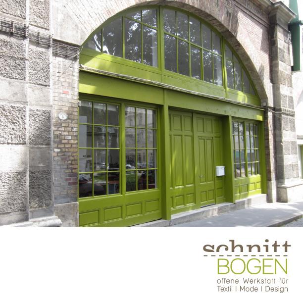 Logo Schnittbogen - Offene Werkstatt für Textil | Mode | Design