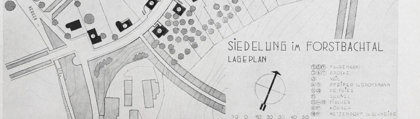 Plan Werkbundsiedlung