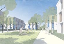 Post & Welters: 2. Platz für die Städtebauliche Konzeption Fulda Waidesgrund