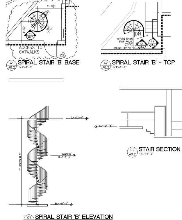 Architectural Details Architekwiki   Minimum Space For Spiral Staircase   Stair Treads   Building Regulations   Design   Space Saving   Tread Depth
