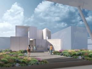 Piuarch-Edicola Caritas EXPO 2015 - Vista esterno