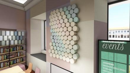 Dettaglio art wall