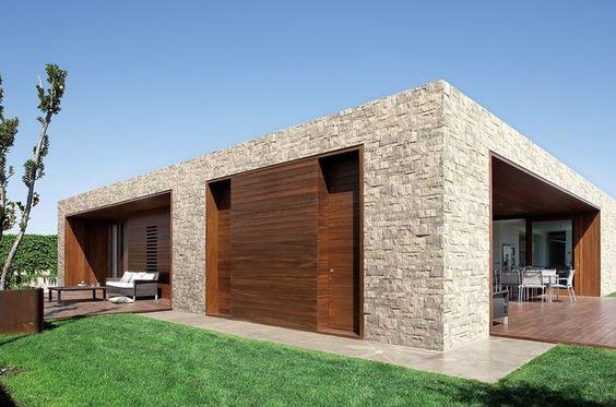 La qualità, il design e l'efficienza di una casa interamente in legno. Case Moderne Idee Ispirazioni Progetti