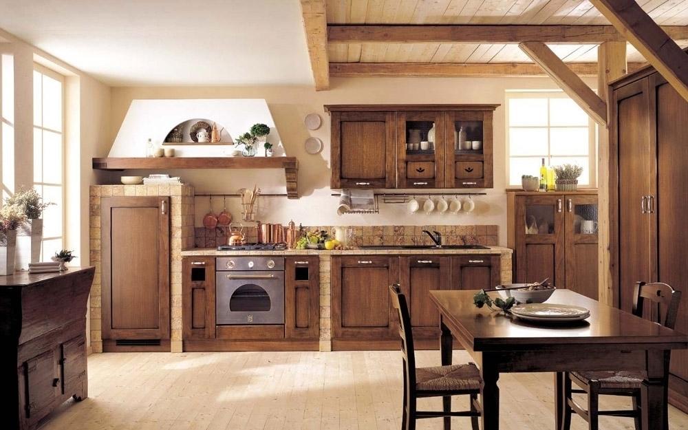 I colori per pareti della cucina rustica sono decisamente neutre per. Cucine Rustiche Idee Decorative Architetto Arreda