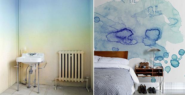 Animali alle pareti animali decorativi sulle pareti per decorare la cameretta con il fai da te. Idee Per Dipingere Le Pareti Sfondi Acquerellati E Paesaggi Naturali