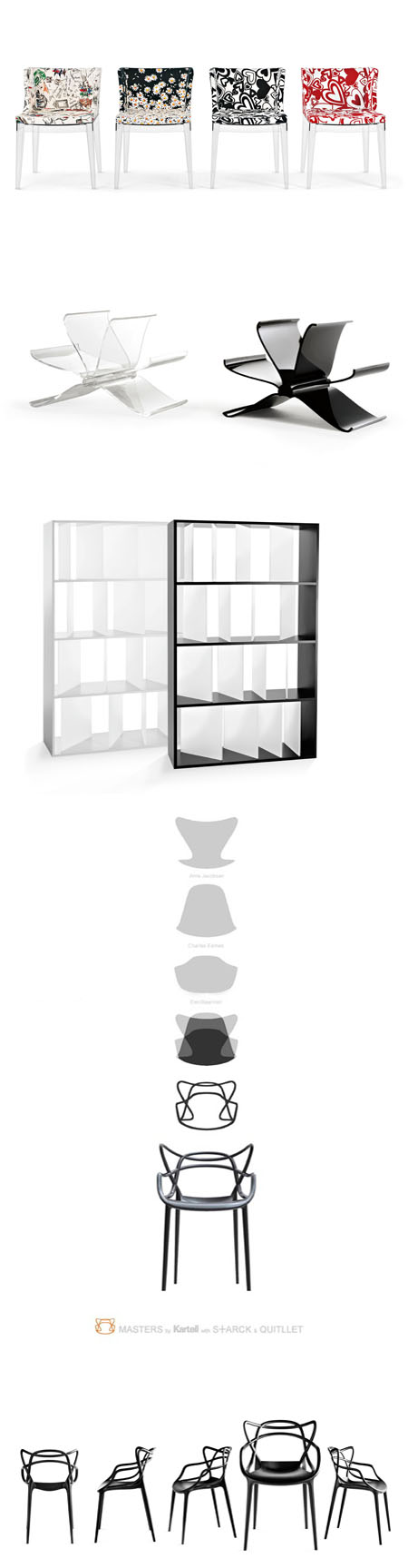 New collection Kartell design