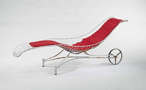 outdoor chaise, 1960s @ architonic.com