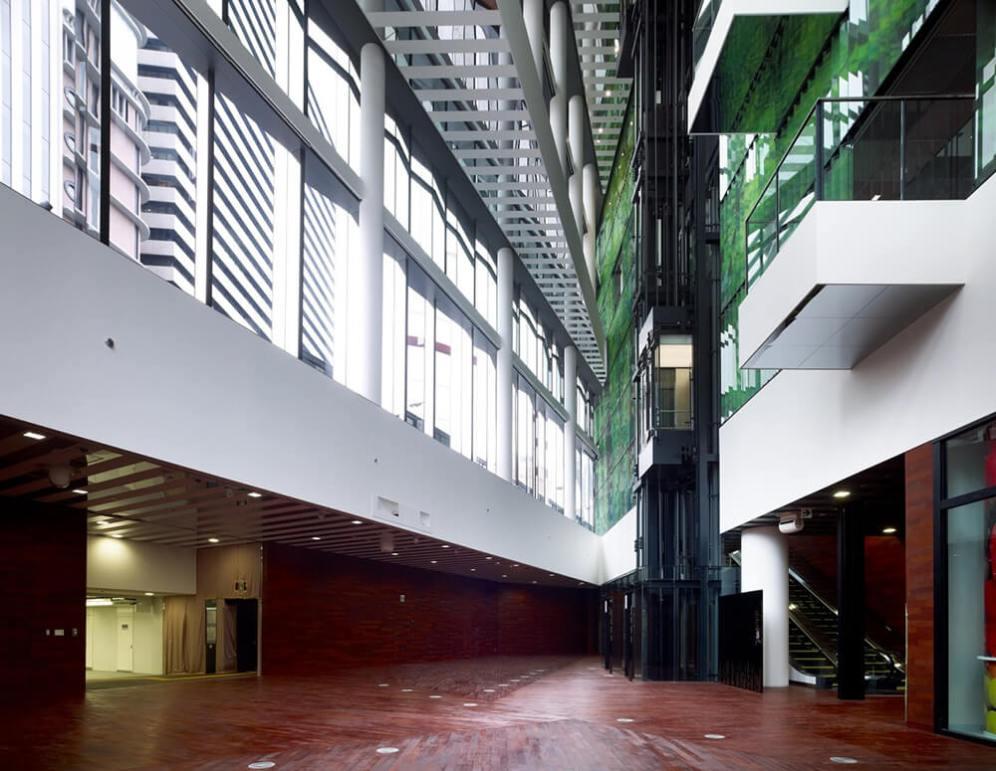 Fukoku Life Osaka, Japan, Dominique Perrault Architecture