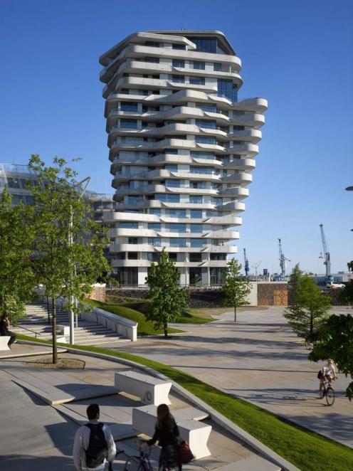 Marco Polo Tower, Hamburg, Germany, Behnisch Architekten