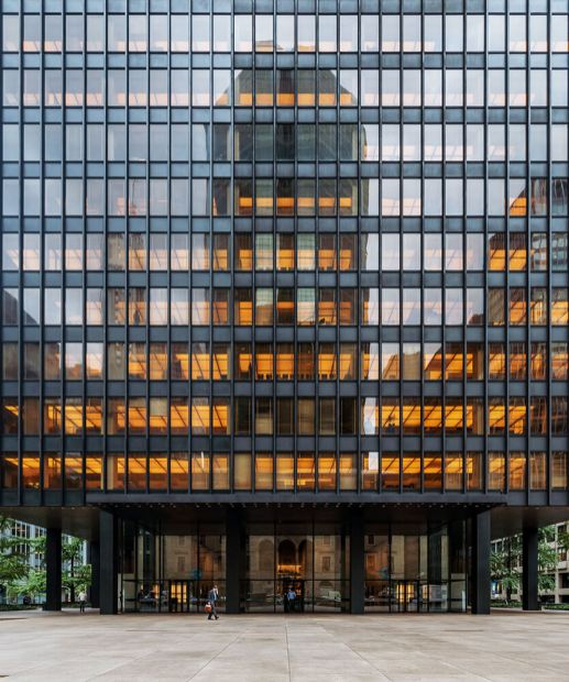 Seagram Building, New York, USA, Mies van der Rohe