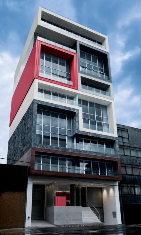 Filadelfia Corporate Suites, Mexico City, Mexico, BNKR Arquitectura