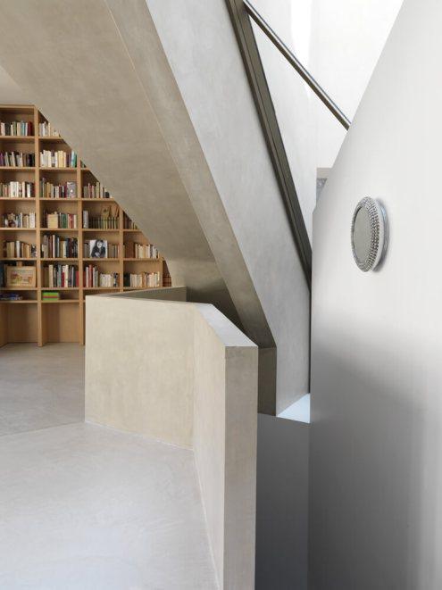 Single Family House in Paris, Paris, France, Aldric Beckmann Architectes