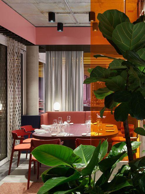 La Visione - Object Carpet Restaurant, Denkendorf, Germany, Ippolito Fleitz Group