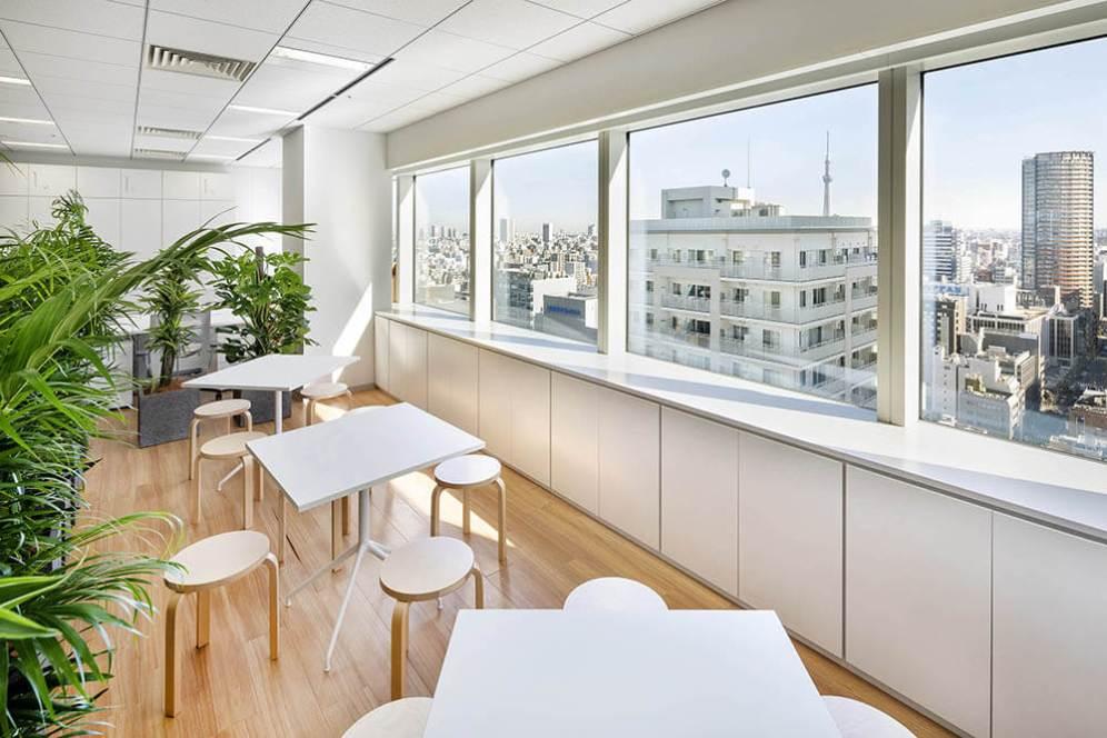 Cybernet - Japan Headquarters, Tokyo, Japan, MBA - Matteo Belfiore Architecture