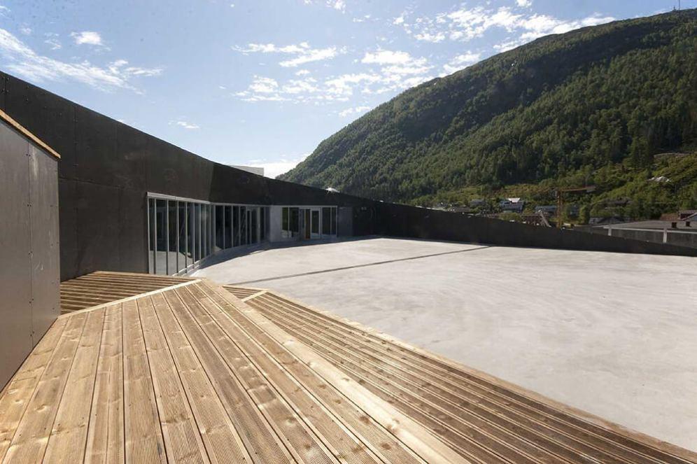 Sogn & Fjordane Art Museum, Førde, Norway, C.F. Møller Architects