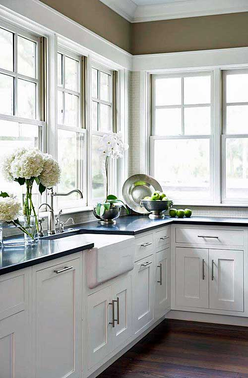 10 Delightful Granite Countertop Colors With Names And ... on What Color Cabinets With Black Granite Countertops  id=77112