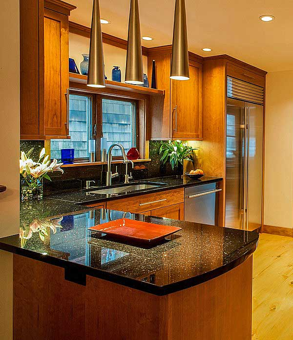 10 Delightful Granite Countertop Colors With Names And ... on What Color Cabinets With Black Granite Countertops  id=27946