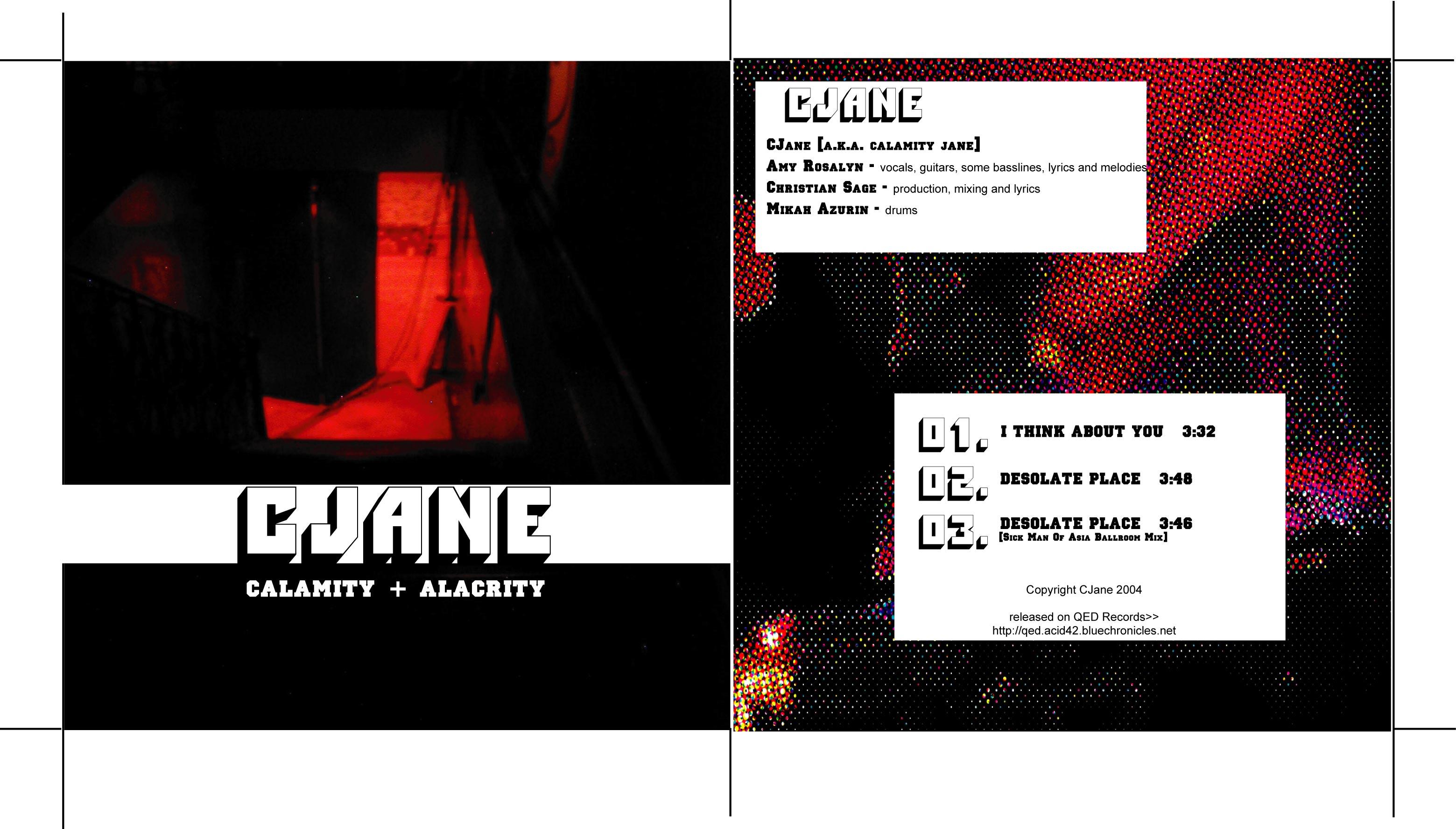 (qd-4208) CJane - Calamity + Alacrity