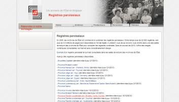 Registres paroissiaux Belgique