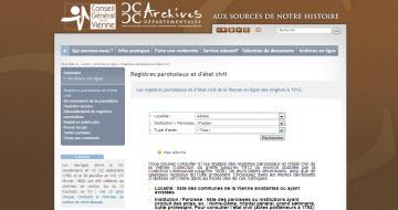 Archives de la Vienne
