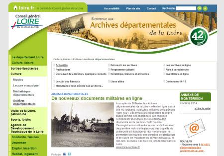 Archives départementales de la Loire