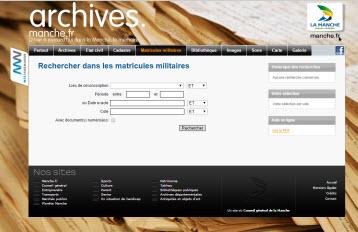 registres matricules 50