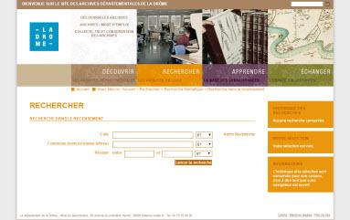 recensement Drôme