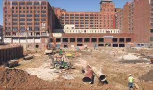 Ponce City Market under construction