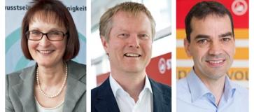Andrea Schmölz, Horst Brinkmann ,Dieter Seger