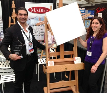 Namta Pittsburgh Best New Product Winner-Mabef Rotating Easel Accessory