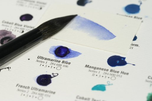 Ultramarine Blue dot, 238 resized