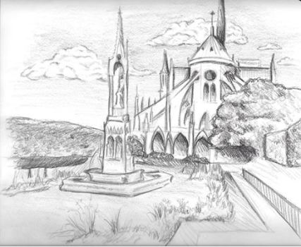 ADB Metallic Sketch Art - Jane O.