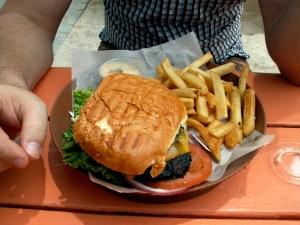 Caribbean Jerk Hamburger