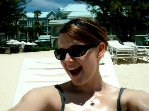 Sun on My Face in Grand Cayman, Cayman Islands