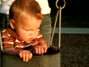 Baby P on Swing