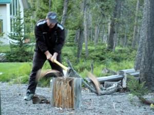 Splitting Logs in Montana